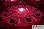 Table Setting at the 2010 Miami iDate Awards