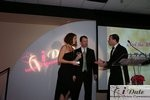 Match.com receiving Best Dating Site Award at the 2010 iDate Awards