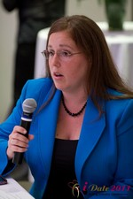 Mae Flexer (Representative from Connecticut) discussing Online Dating Legislation at iDate2011 L.A.