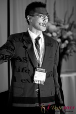 Douglass Lee (Vice President at Click2Asia) at the 2011 Online Dating Industry Conference in Beverly Hills