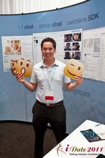 Userplane (Exhibitor) at the 2011 Online Dating Industry Conference in L.A.