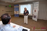 Julie Ferman (CEO of Cupid 's Coach) at the 2011 L.A. Internet Dating Summit and Convention