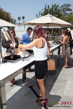 Lunch at the June 22-24, 2011 L.A. Online and Mobile Dating Industry Conference