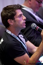 Joel Simkhai (CEO of Grindr) at the 2011 Online Dating Industry Conference in Beverly Hills