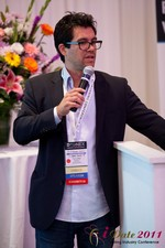 Tai Lopez (CEO of DatingHype.com) at the June 22-24, 2011 Dating Industry Conference in Beverly Hills