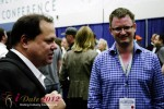 Markus Frind (Plenty of Fish) and Gary Kremen (Founder of Match.com) at iDate2012 Miami