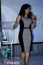 Comedienne Amy Tinoco at the 2012 Miami iDate Awards Ceremony