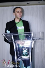 Sam Yagan - OKCupid - Winner of Most Innovativee Company 2012 at the 2012 Internet Dating Industry Awards in Miami