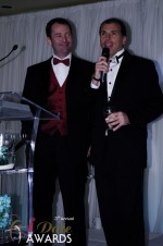 Mark Brooks and Marc Lesnick at the 2012 iDateAwards Ceremony in Miami