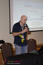 Daniel Gudema - CEOOops I'm Single at the January 23-30, 2012 Miami Internet Dating Super Conference