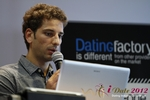 David Khalil (Co-Founder of eDarling) at the 2012 Cologne Euro Mobile and Internet Dating Summit and Convention