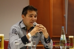 Final Panel (Benjamin Bak of Lovoo) at the 2012 Cologne European Mobile and Internet Dating Summit and Convention