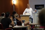 Lorenz Bogaert (CEO of Twoo) at the September 10-11, 2012 Mobile and Internet Dating Industry Conference in Koln