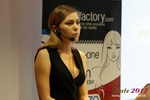 Oksana Reutova (Head of Affiliates at UpForIt Networks) at the September 10-11, 2012 Mobile and Internet Dating Industry Conference in Koln
