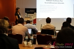 Tanya Fathers (CEO of Dating Factory) at the 2012 E.U. Online Dating Industry Conference in Koln