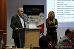 Tim Ford and Monica Whitty at the 9th Annual European iDate Mobile Dating Business Executive Convention and Trade Show