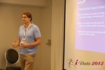Alexander Harrington (CEO of MeetMoi) discusses Social Discovery at iDate2012 California