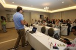 Alexander Harrington (CEO of MeetMoi)  at the June 20-22, 2012 Mobile Dating Industry Conference in Beverly Hills
