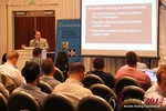 Brian Bowman (CEO of TheComplete.me) during Keynote Address at iDate2012 California