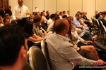 Audience and Beer at the Final Panel  at iDate2012 West