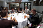 Lunch at the 2012 Online and Mobile Dating Industry Conference in Beverly Hills