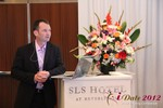Mark Brooks (CEO of Courtland Brooks) at the June 20-22, 2012 Beverly Hills Online and Mobile Dating Industry Conference