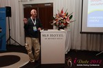 Martin Eyking (CEO of New Media Services) covers False Dating Profiles at iDate2012 Beverly Hills