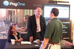 PayOne (Exhibitor) at the 2012 Beverly Hills Mobile Dating Summit and Convention