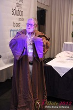 Jonathan Crutchley (Chairman at Manhunt) is actually Obi Wan Kenobi! at the 2012 L.A. Mobile Dating Summit and Convention