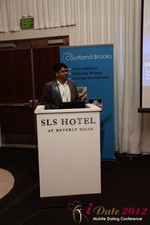 Santanu Basu (Sr Product Manager at Bing) at iDate2012 Beverly Hills