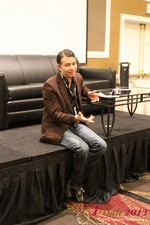 Michael McQuown (CEO of ThunderRoad) on AB testing at the 2013 Internet Dating Super Conference in Las Vegas