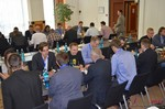 Speed Networking among Dating Industry Executives  at the September 8-9, 2014 Koln Euro Online and Mobile Dating Industry Conference
