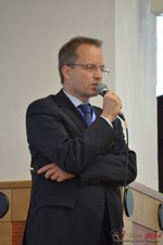 Dieter Plassman, CTO at Net-M  at the 2014 Koln Euro Mobile and Internet Dating Expo and Convention
