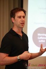 Author Neal Cabage Of The Smarter Startup at the 38th Mobile Dating Industry Conference in California