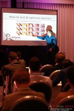 Axel Vezina, Chief Analytics Officer For Crak Media On Best Strategies For Mobile Dating Conversions  at the 38th iDate2014 California