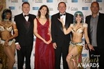 Dating Factory & RedHotPie Execs  at the 2014 Las Vegas iDate Awards Ceremony