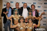 The Crew from Britian  at the 2014 Internet Dating Industry Awards in Las Vegas