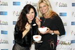 Marcella Romaya & Sheri Grande (Gluten Free Desert @ iDate) at the 2014 iDateAwards Ceremony in Las Vegas