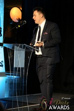 Maciej Koper of World Dating Company (Winner of Best New Technology) at the 2014 iDate Awards