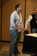Carlos Magalhaes - CEO of Mentis Dating at the January 14-16, 2014 Internet Dating Super Conference in Las Vegas