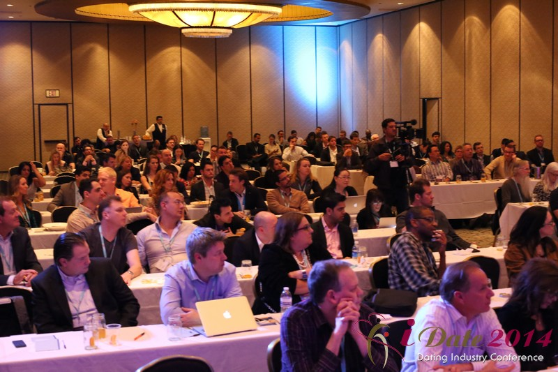 Audience at Final Panel Debate at the January 14-16, 2014 Las Vegas Internet Dating Super Conference