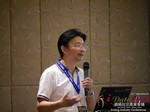 Dr. Song Li - CEO of Zhenai at the 2015 Beijing Asia Mobile and Internet Dating Expo and Convention
