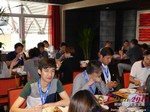 Lunch at the May 28-29, 2015 Mobile and Internet Dating Industry Conference in Beijing