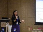 Violet Lim - CEO of Lunch Actually at the 2015 China & Asia Online Dating Industry Conference in China