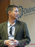 Justin Parfitt - CEO of HeyLets at the January 20-22, 2015 Las Vegas Internet Dating Super Conference