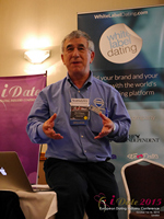 Dave Wiseman Vice President Of Sales And Marketing Speaking To The European Dating Market On Scam Detection Technology at the 2015 E.U. Online Dating Industry Conference in London