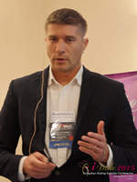 Hristo Zlatarsky CEO Elitebook.bg With Insights On The Bulgarian Mobile And Online Dating Market at the 12th annual E.U. iDate conference matchmakers and online dating professionals in London