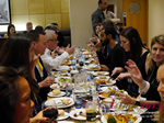 Lunch Among European And Global Dating Industry Executives   at the 12th annual E.U. iDate conference matchmakers and online dating professionals in London