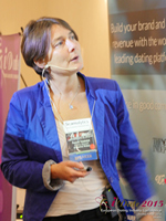 Pauline Tourneur General Manager Of Attractive World Speaking On The French Online And Mobile Dating Market at the October 14-16, 2015 London E.U. Internet and Mobile Dating Industry Conference