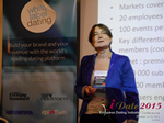 Pauline Tourneur General Manager Of Attractive World Speaking On The French Online And Mobile Dating Market  at the 2015 E.U. Online Dating Industry Conference in London